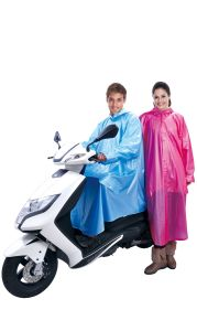 PVC Simple Raincoat pictures & photos