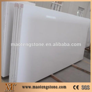 Pure White Artificial Quartz Stone Slab pictures & photos