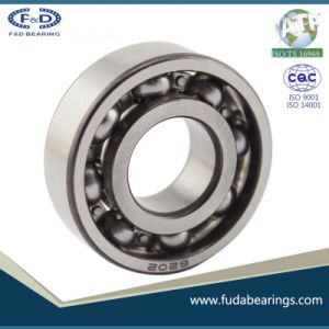 Chrome one way ball bearing 6202NR cixi bearing factory pictures & photos