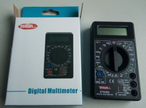 Portable Digital Multimeter with Continuity Buzzer pictures & photos