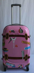 New Cartoon Printed Design Good Quality File Trolley Travel Luggage Bag pictures & photos