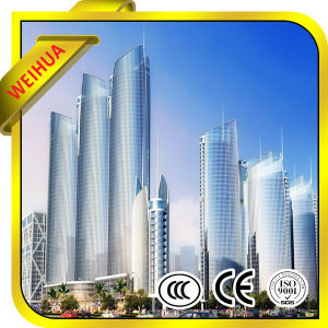 Tempered Clear Curtain Wall Low-E Insulated Glass for Buildings pictures & photos