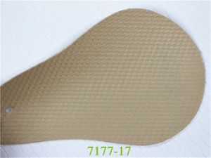 High Abrasion Resistance Embossed Synthetic PVC Automotive Leather pictures & photos