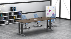 Black Customized Metal Steel Office Conference Table Leg with Ht19 pictures & photos