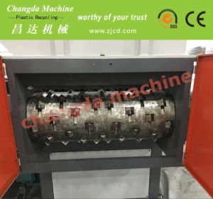Double-Single Shredder for Jumbo Bags and Plastic Film pictures & photos