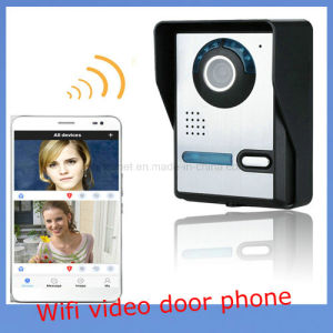 HD 720p WiFi Video Door Phone Doorbell Intercom Home Security System pictures & photos