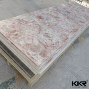Kkr Wholesale 6 / 12mm Glacier White Acrylic Solid Surface Sheet pictures & photos