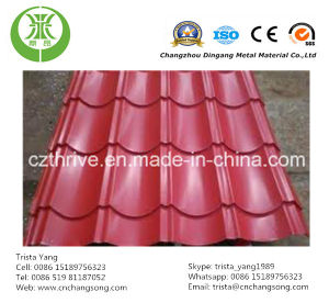Prepainted Corrugated Aluminum Sheet pictures & photos
