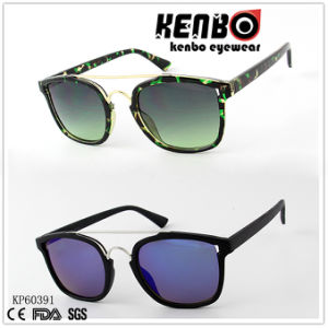 Metal Eyebrow Joins Nose Bridge Combine Full Plastic Fashion Sunglasses Kp60391 pictures & photos