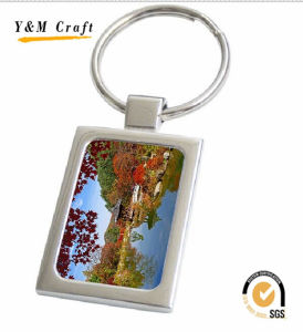 Cheapest Promotional Christams Gift Metal Key Ring with Customized Logo pictures & photos