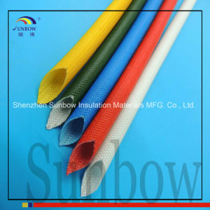 Sunbow 1.2kv VW-1 Cable Sleeving Silicone Fiberglass Sleeving pictures & photos