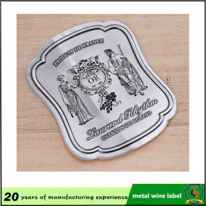 Fashion Car Logo Customized Aluminum Sticker Label pictures & photos