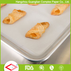406X610mm Food Grade Grease Proof Silicone Coated Paper for Baking pictures & photos