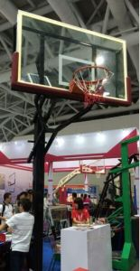 Height Adjustable Free Standing in-Ground Basketball Stand for Sale pictures & photos