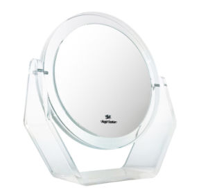 Double Sided Mirror Double Side Foldable Make up Table Mirror for Cosmetic pictures & photos