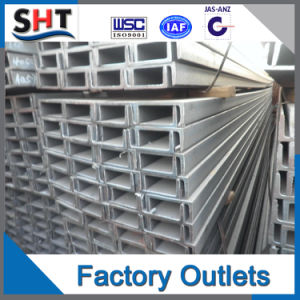 Hot Rolled U Type Carbon Steel U Channel pictures & photos
