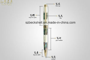 Twist Mechanisms Metal Raw Shell Pen Business Balck Pen for Gift pictures & photos