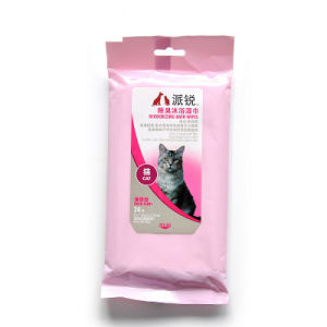 Pet Special Cleaning Beauty Products Cat Wipes 24 Pieces pictures & photos
