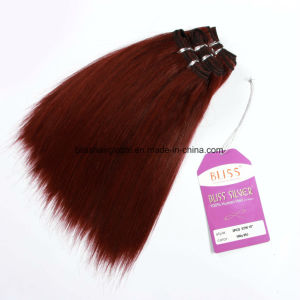 Bliss Hair Yaki Straight Human Hair 99j Color pictures & photos
