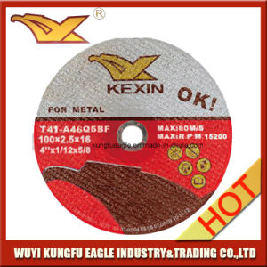 100X2.5X16mm High Quality Cutting Disc for Metal pictures & photos