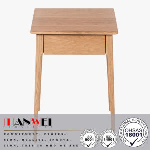High Quality 1 Drw Oak Solid Wood Nightstand Bedside Cabinets pictures & photos