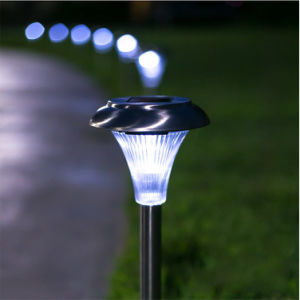Outdoor Lamp New Design All-in-One Stainless Steel Solar Lawn Light pictures & photos