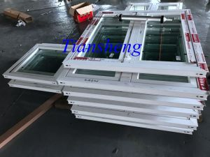Customized Powder Coated Aluminum Casement Window with Double Glazing pictures & photos