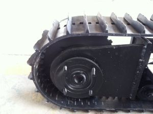 New Design Rubber Track Undercarrige Assembly From Leve with ISO9001 pictures & photos