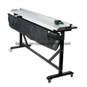 M-004 100inch 2500mm Aluminum Alloy Large Format Paper Trimmer Cutter with Support Stand pictures & photos