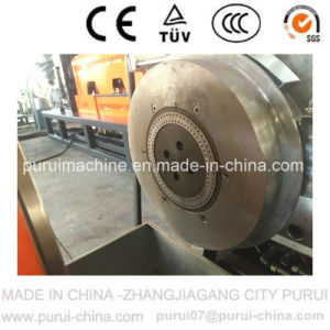 Waste Plastic Recycling Granulation Machinery for HDPE Milk Bottle Flakes pictures & photos