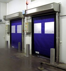 Factory Roll up Shed Malaysia High Speed Zipper Soft Rapid Rolling Door (Hz-HSD013) pictures & photos