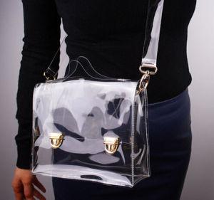 New Fashion Handbag Clean PVC Plastic Bag pictures & photos
