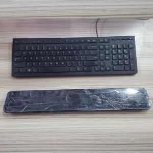 Custom Egonomic Designed Black Memory Foam Keyboard Hand Wrist Rest pictures & photos