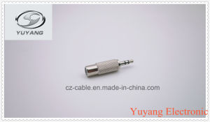 3.5mm Stereo Plug to RCA Jack pictures & photos