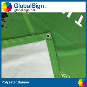 China Factory Best Price Advertising 220g Polyester Fabric Banner Display pictures & photos