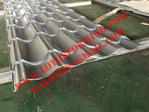 PPGI Steel Sheet Glazed Roof Tile Roll Forming Machine with Ce Certification pictures & photos