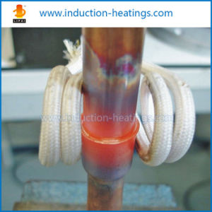 Ultrahigh Frequency Induction Brazing Copper Tube Machine pictures & photos