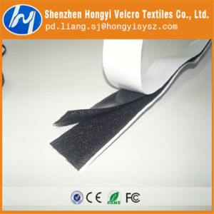Durable Black Adhesive Magic Tape Hook and Loop pictures & photos