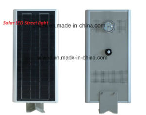 20W All in One Integrated LED Solar Street Light with Infrared Induction pictures & photos