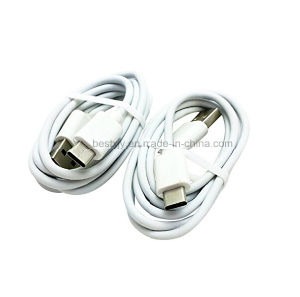 Best Sell White PVC Insulated Micro USB Cable for Smart Phone with Charging or Data Transmission pictures & photos