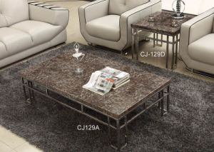 Marble Top Coffee Table Living Room Furniture (CJ-129A CJ-129D) pictures & photos