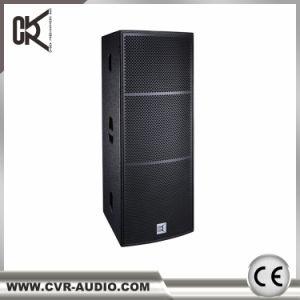 Full Range Loudspeaker System Dual 15 Inch Speaker pictures & photos