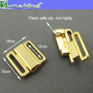 Metal Swimsuit Buckle Bikini Connector Hardware Bra Closure Clasp Accessories pictures & photos