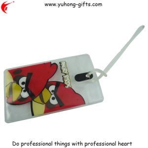 Full Color Print Plastic Luggage Tag for Promotion (YH-LT011) pictures & photos