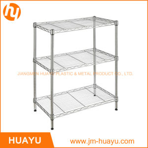 75lx35wx70h Chrome Finish Wire Shelving for Display pictures & photos