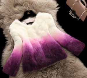 Women′s Fashion Fur OEM Order 004 pictures & photos