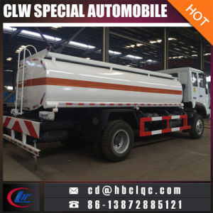 Sino Huanghe 15m3 16m3 Oil Tank Fuel Transport Truck pictures & photos