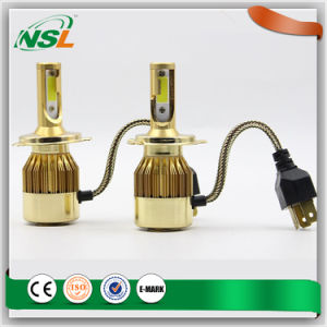 6000lm 60W Gold LED Headlight 12V/ 24V H1 H3 H4 H8 H9 H10 H11 H13 H16 Headlight LED pictures & photos