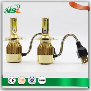 6000lm 60W Gold LED Headlight12V/ 24V LED Bulbs H4 Gold LED H1 H3 H4 H8 H9 H10 H11 H13 H16 Headlight LED pictures & photos
