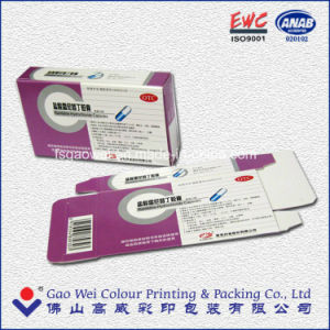Hot Sale 6c Offset Printing Recycled Packaging Foldable Paper Box pictures & photos